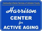 Harrison Center Sign