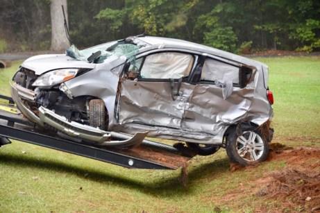 Accident - NC42 Creech's Church Road 10-12-17-3JP
