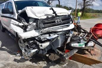 Accident - NC96, Little Devine Road, 10-11-17-1JP
