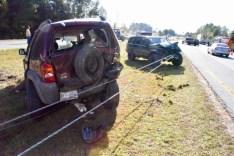 Accident - US70, Wilsons Mills Road, 10-03-17-2JP
