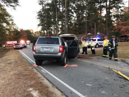 Accident - Booker Dairy Road, 11-30-17-4JP