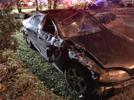 Accident - Guy Road, 11-16-17-3JT