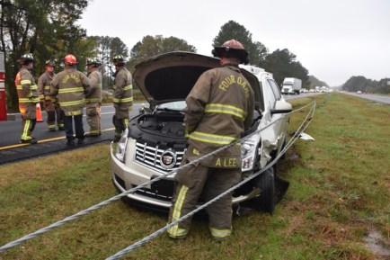 Accident - I95 Smithfield, 11-09-17-3JP