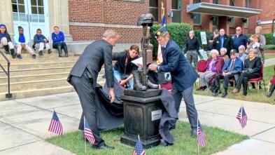 Clayton Veterans Monument Unveiling 11-14-17-1JP