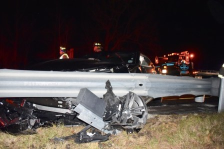 Accident - I95 90MM Four Oaks, 12-22-17-1JP