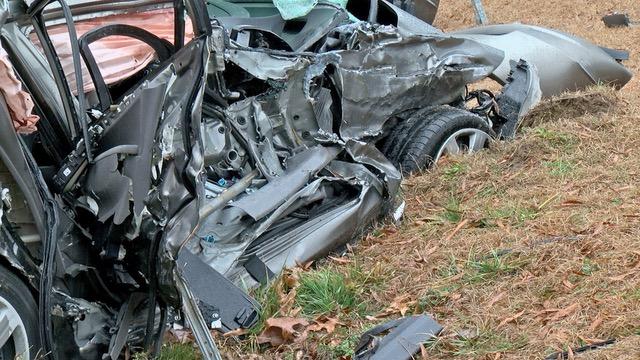 Accident - School Bus - Raleigh Road, 02-08-18-1JP