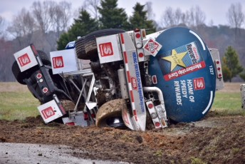 Accident - Tanker - Old Beulah Road, 03-07-18-1JT