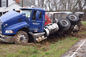 Accident - Tanker - Old Beulah Road, 03-07-18-2JT