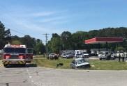 Accident - Brodgen Road, Bakers Chapel Road, 05-02-18-4JT