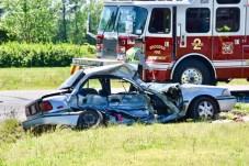 Accident - Brodgen Road, Bakers Chapel Road, 05-02-18-9JT