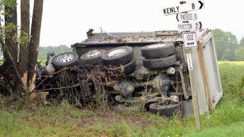 Fatal - Dump Truck - Rains Mill Road 09-12-18-2JP
