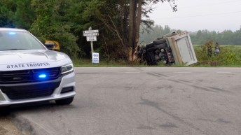 Fatal - Dump Truck - Rains Mill Road 09-12-18-3JP