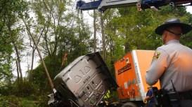 Accident - I-95 I95, Four Oaks, 10-07-18-2JP