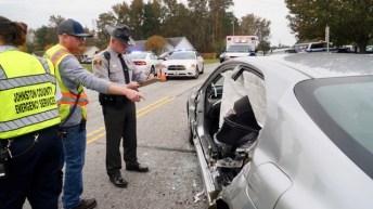 Accident - Covered Bridge, Castleberry Road, 11-05-18-2Jp