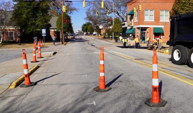 Main Street Clayton Repairs 12-18-18-1JP