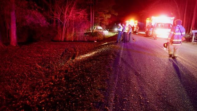 Accident - Crockers Nub Road 01-07-19-5CP