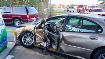 Accident - Fire Department, Wilsons Mills Road, 01-18-19-1JP