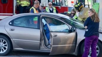Accident - Fire Department, Wilsons Mills Road, 01-18-19-3JP
