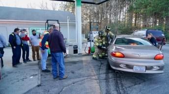 Accident - Fire Department, Wilsons Mills Road, 01-18-19-4JP