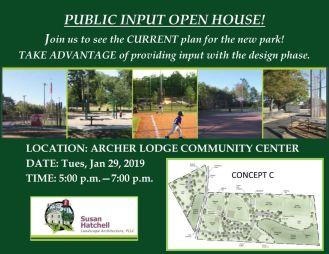 Archer Lodge Park Meeting 01-25-19-1CP