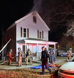 Fire - North Church Street, Clayton 01-23-19-3JT