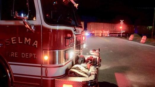 Selma PD - Train Pedestrian Fatal, Ricks Road, 01-21-19-2JP
