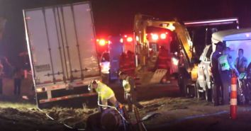Accident - I95 Robeson County 02-06-19ABC