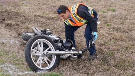 Crash Injures Motorcyclist – JoCo Report