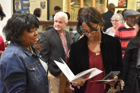 The crowd at the Eighth Annual Black History Month Open House, held Sunday, Feb. 24th, 2019 at the Benson Museum of Local History.