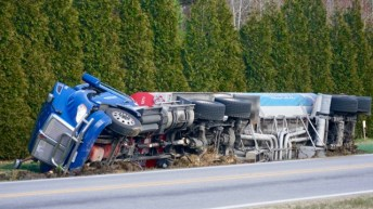 Accident - Tanker, Guy Road, 03-05-19-1JP