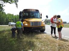 Accident - Bus US701, Stewart Road, 05-30-19-2ML