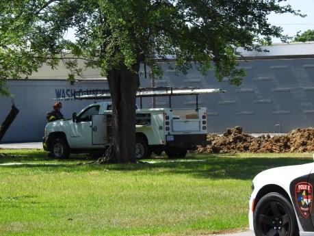 Smithfield Gas Leak - North 5th Street, 05-16-19-2ML