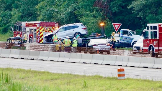 5 Injured In I-95 Construction Zone Crash – JoCo Report