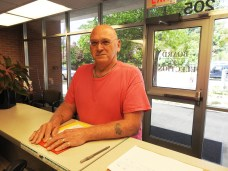 Roger Diegele filed for the Selma Town Council. JoCoReport.com Photo