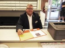 Councilman Steve Rabil filed for a second term on the Smithfield Town Council. JoCoReport.com Photo