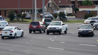 Traffic - US70, Main - Clayton 08-19-2JP