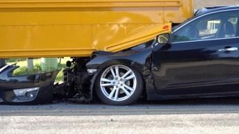 Accident - School Bus, Sanders Road 10-04-19-1JP