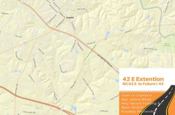 Highway 42 East Extension Clayton 01-16-20