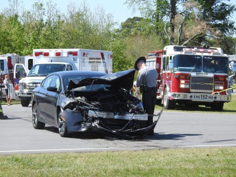 Accident - NC50, Eldridge Road 04-10-20-9ML