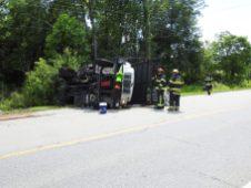 Accident - Utility Truck, US70 E, 06-19-20-3ML