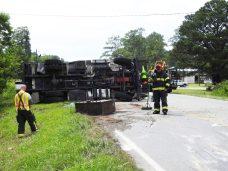 Accident - Utility Truck, US70 E, 06-19-20-4ML