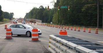 Highway 42 east traffic shift 06-19-20-3JP