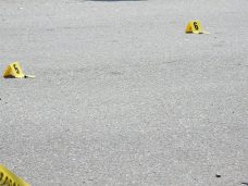 Smithfield Police recovered bullet casings Monday afternoon on E. Dundee Street near S. Brightleaf Boulevard.