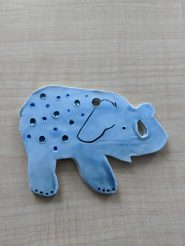 """This is 1 of 25 elephants """"hidden"""" along the Greenway for visitors to find."""