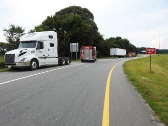 Fire - Tractor Trailer I-95, Keen Road, 07-13-20-1ML