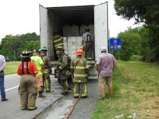 Fire - Tractor Trailer I-95, Keen Road, 07-13-20-4ML
