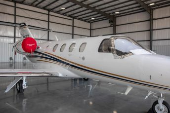 Wayne Executive Jetport Corporate Hangar Interior