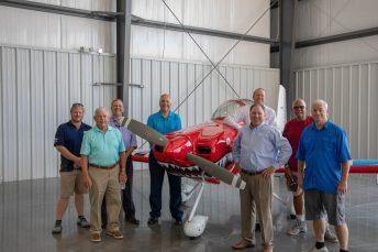 Wayne Executive Jetport Commission members