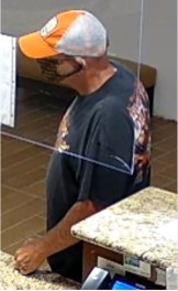 JCSO - Holiday Inn Robbery Suspect 08-07-20-3CP