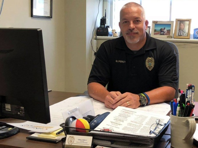 Benson Police Chief Greg Percy